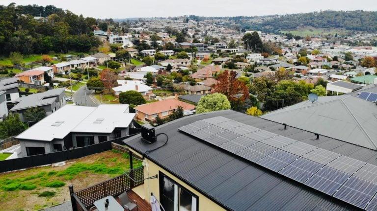 Bracknell, Tasmania residential solar