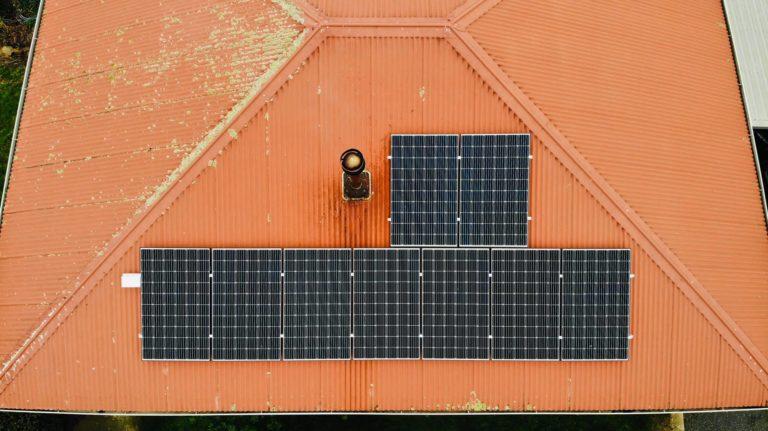 Bracknell, Tasmania residential solar system