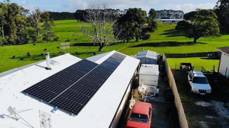 Burnie, Tasmania residential solar install