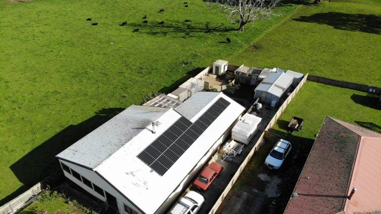 Burnie, Tasmania solar system install
