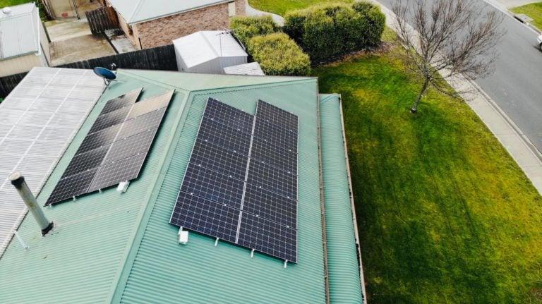 Hobart, Tasmania solar panel installation