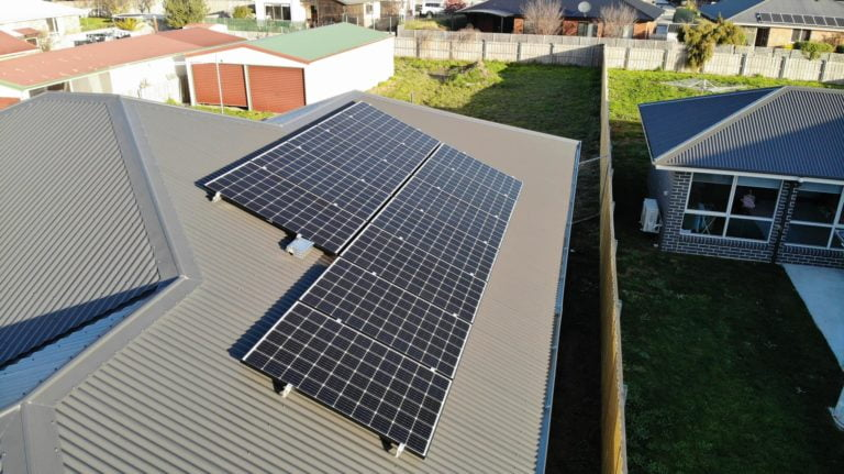 Launceston, Tasmania residential solar system