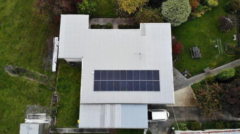 Launceston, Tasmania solar system install