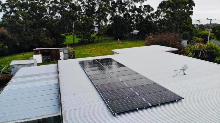 Launceston, Tasmania sunface residential solary system