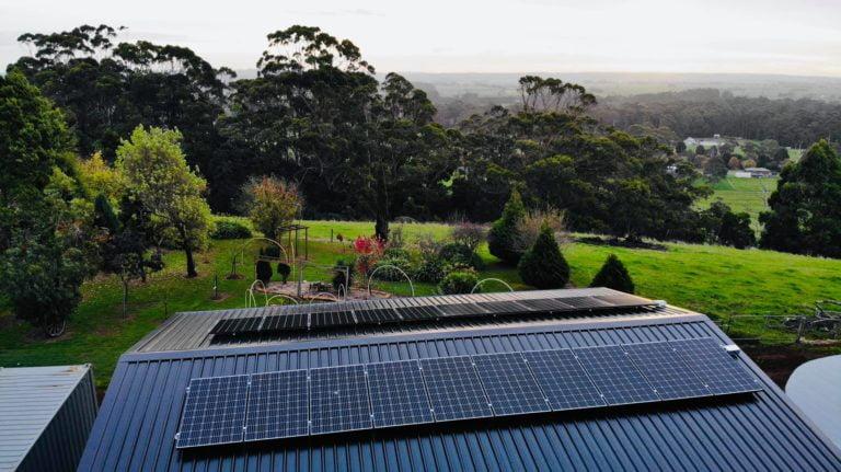Launceston, Tasmania sunface solar system