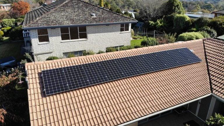 Newstead & Norwood, Launceston solar panel install