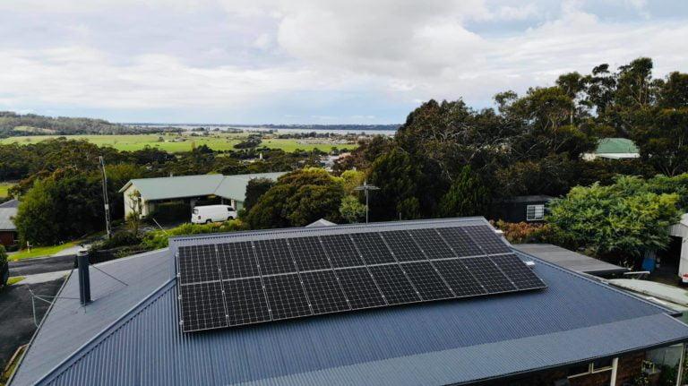Saint Helens, Tasmania, Australia residential solar