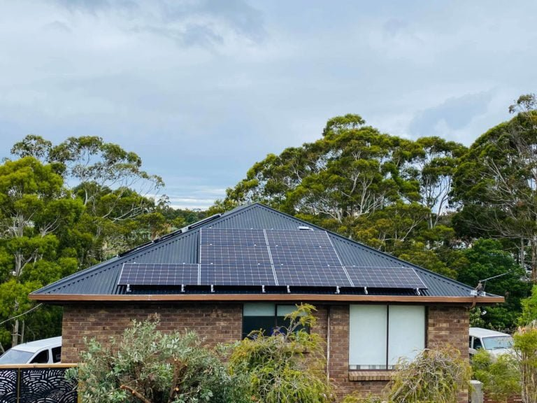 Saint Helens, Tasmania, Australia residential solar system