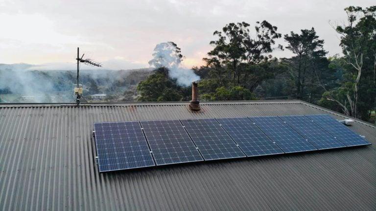 Saint Marys, Tasmania, Australia solar installations