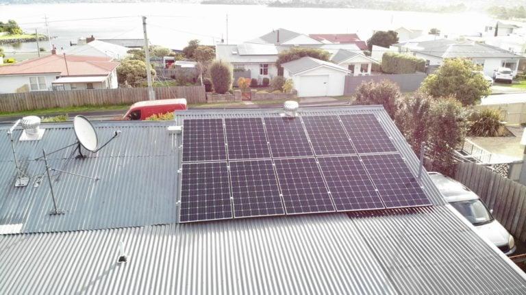 Sandy Bay & Howrah, Tasmania, Australia residential solar
