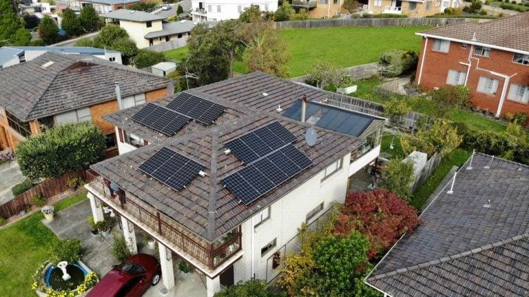 Sandy Bay & Howrah, Tasmania, Australia residential solar panels