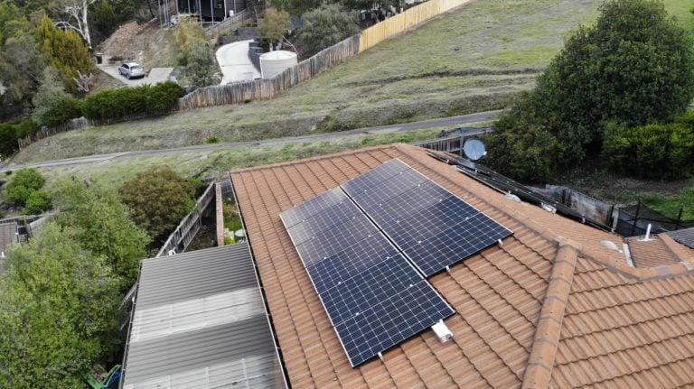 Sandy Bay & Howrah, Tasmania, Australia solar install