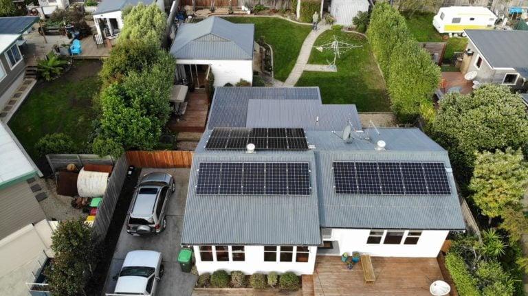 Sandy Bay & Howrah, Tasmania, Australia solar panels